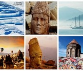 Turkey encompasses 16 cultural assets inscribed on UNESCO World Heritage List