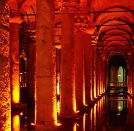 The Basilica Cistern Video