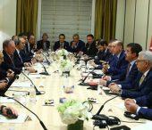 President Erdoğan Meets with…