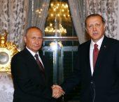 President Erdoğan Meets Russian President Putin