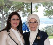 First Lady Erdoğan Meets Venezuela's First Lady Flores