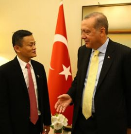 President Erdoğan Receives Alibaba Founder and Chairman Ma
