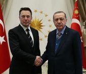 President Erdoğan Receives SpaceX Founder Musk